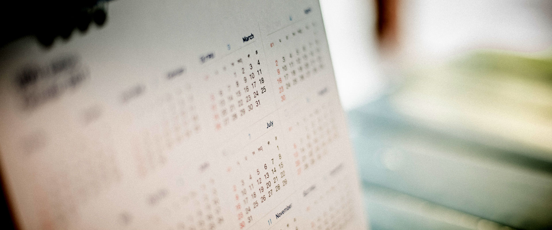 Calendar of Youth Events